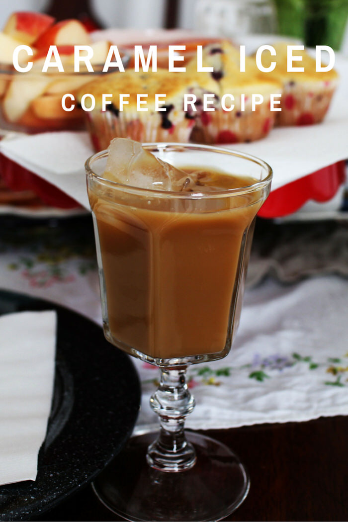 Classic Caramel Iced Coffee Recipe