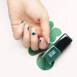 St. Patrick's Day Nail Art Saint Patrick's Day Manicures Clover Nails