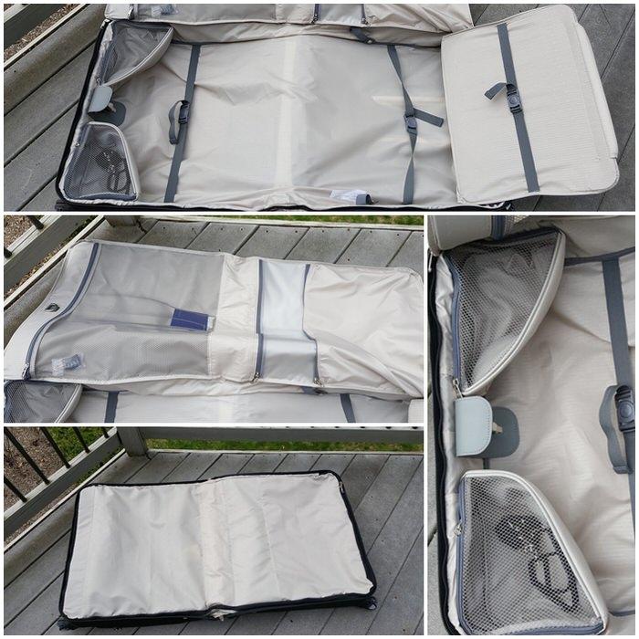Best Garment Bag Samsonite Silhouette Sphere 2 Deluxe Voyager Garment Bag interior