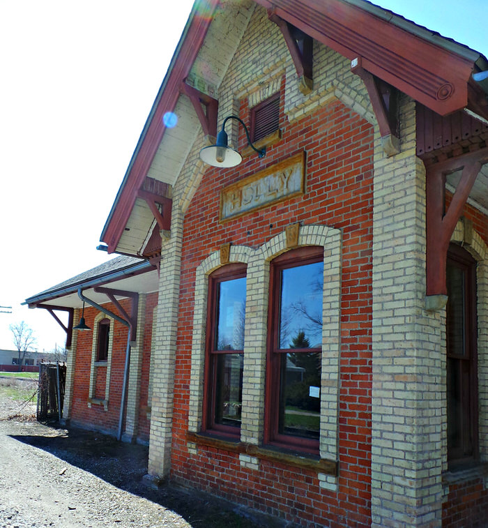 Holly Michigan Train Depot