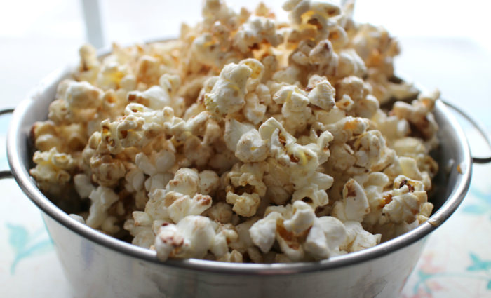 Homemade Cinnamon Vanilla Kettle Corn