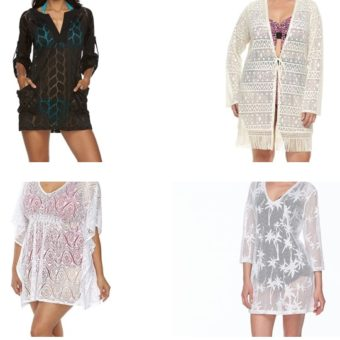 Lace Beach Coverups for Women over 45