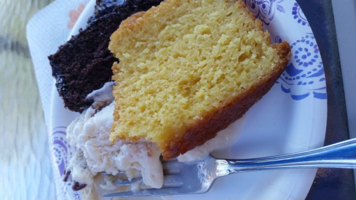 Aunt Beth's Butterfly Orange Cake Still Blonde after all these Years