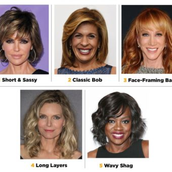 The Perfect Cut for Women over 50, 60, and 70