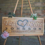 Callahan creations Personalized Wood Signs