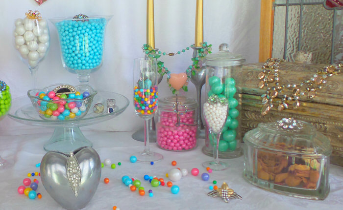 Candy buffet 3 ways Celebration by Frey Engagement Party