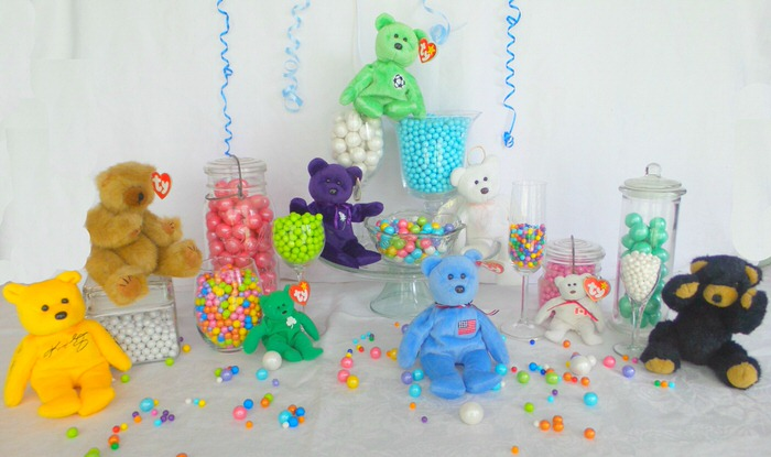 Candy buffet 3 ways Celebration by Frey Teddy Bear Picnic