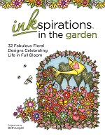 Inkspirations Adult Coloring Books in the Garden