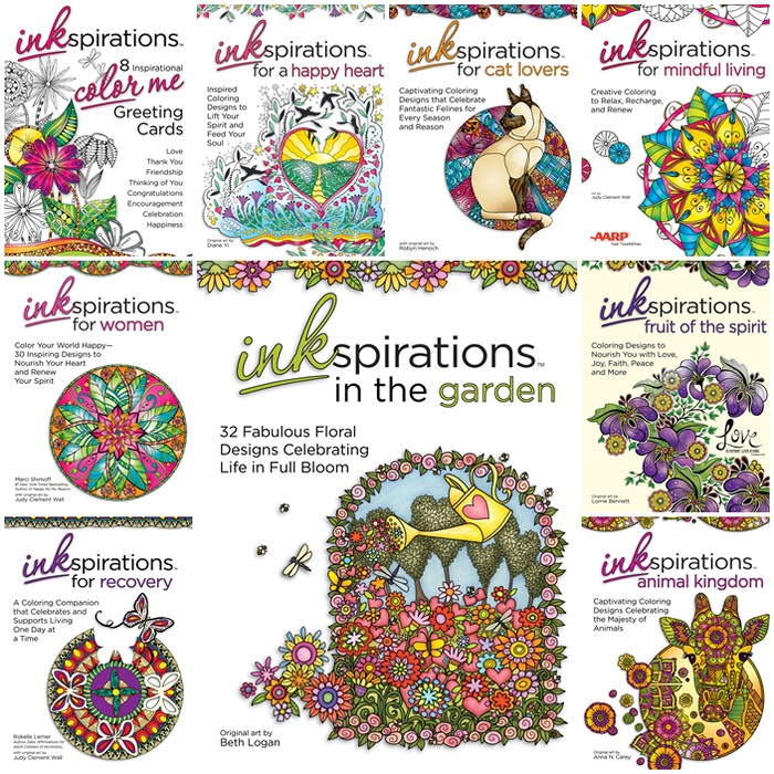 Inkspirations Adult Coloring Books