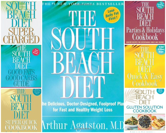 South Beach Diet Collage