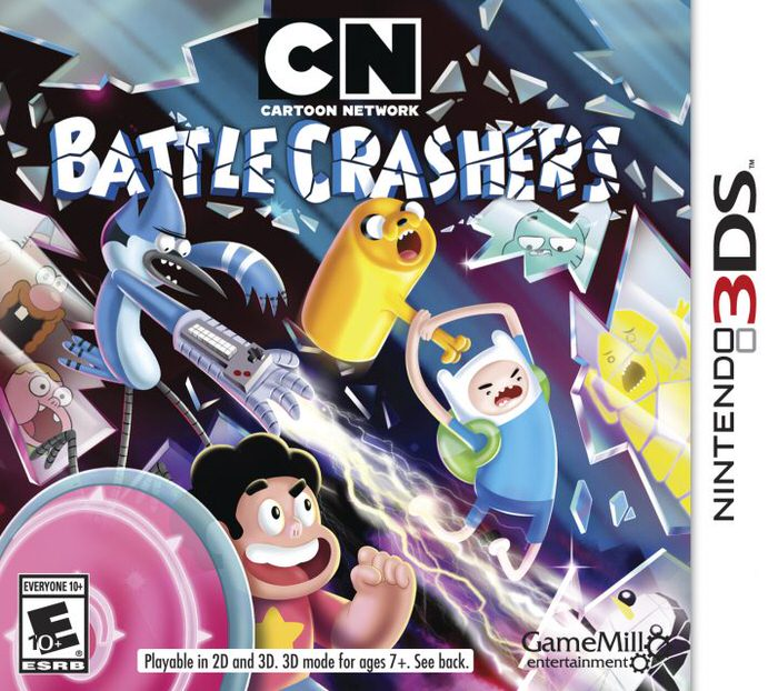 cartoon network battle crashers 3ds