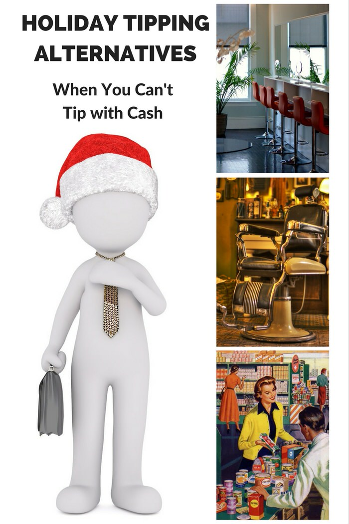 holiday tipping cash alternatives