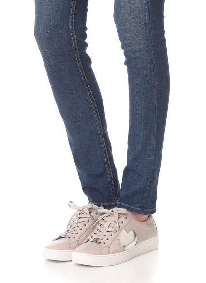 MICHAEL Michael Kors Keaton Heart Cute pink sneakers