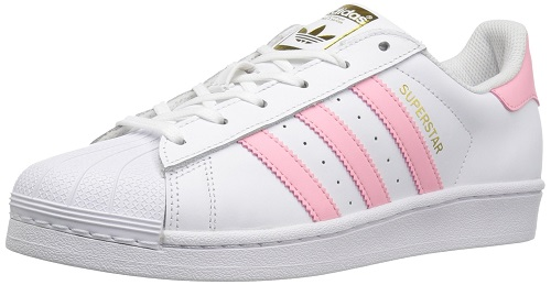 adidas Women's Superstar W Cute pink sneakers