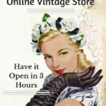 How to set up an Online Vintage Store and Have it Open in 3 hours