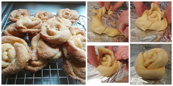 Cinnamon Rosettes Croissants Recipe