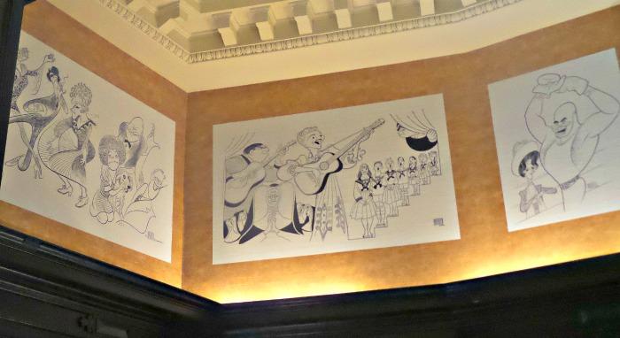 Al Hirschfeld Algonquin Hotel The tonys as seen by hirschfeld