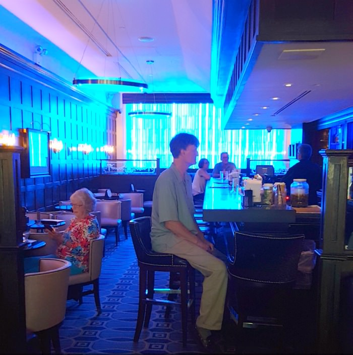 The Algonquin Hotel Blue Bar Hirschfeld
