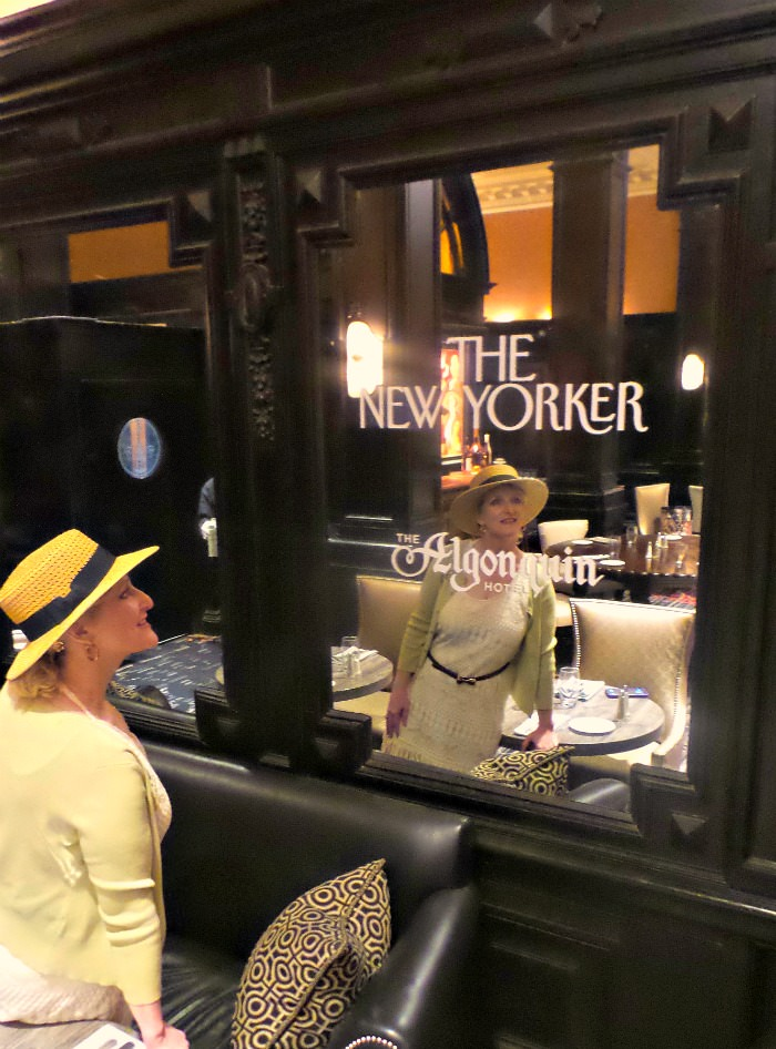 The Algonquin Hotel Round Table Restaurant Review New york City