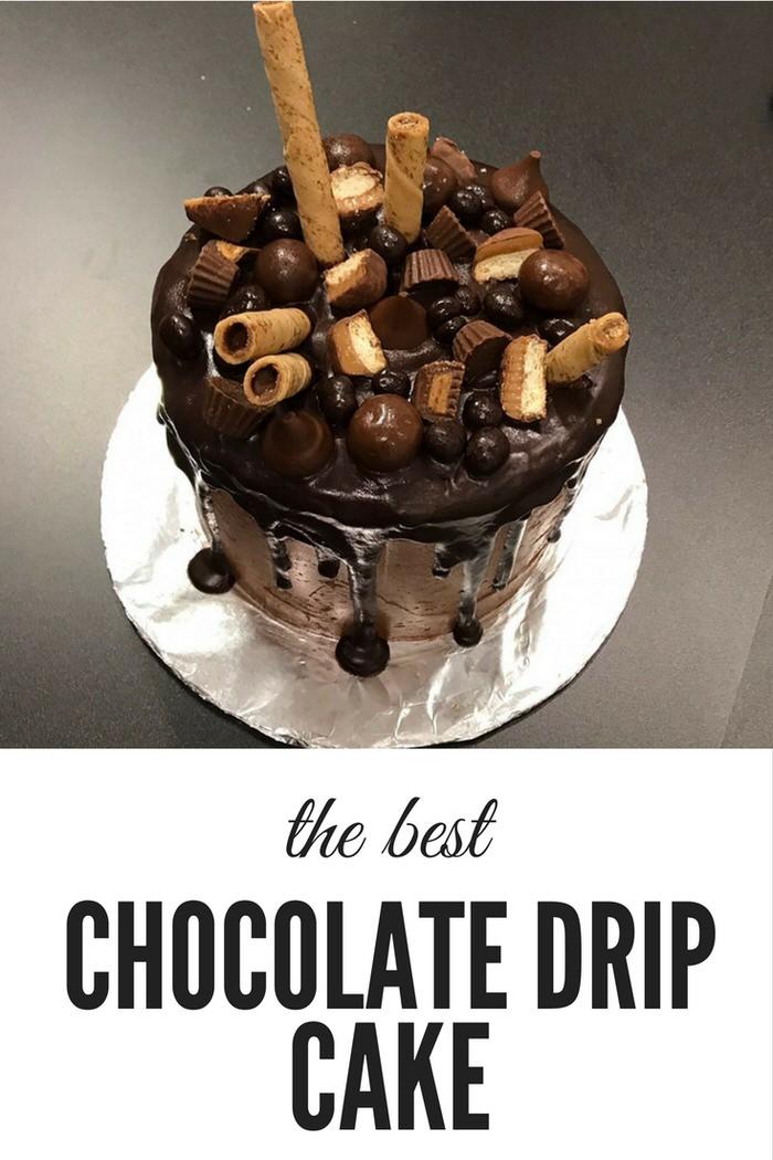 The Best Chocolate Drip Cake Recipe EVER