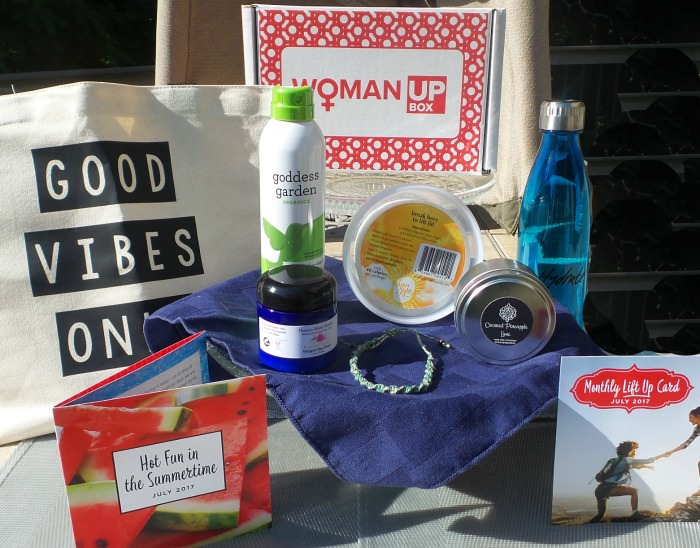 Woman Up Box Subscription Box July 2017
