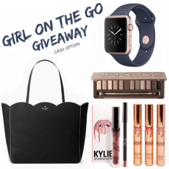 Flash Giveaway! $750 Cash Or Kate Spade Bag, Apple Watch and More