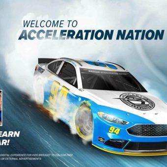 NASCAR Acceleration Nation App: Kids Motorsports Fun + $625 in Prizes (3 Winners)