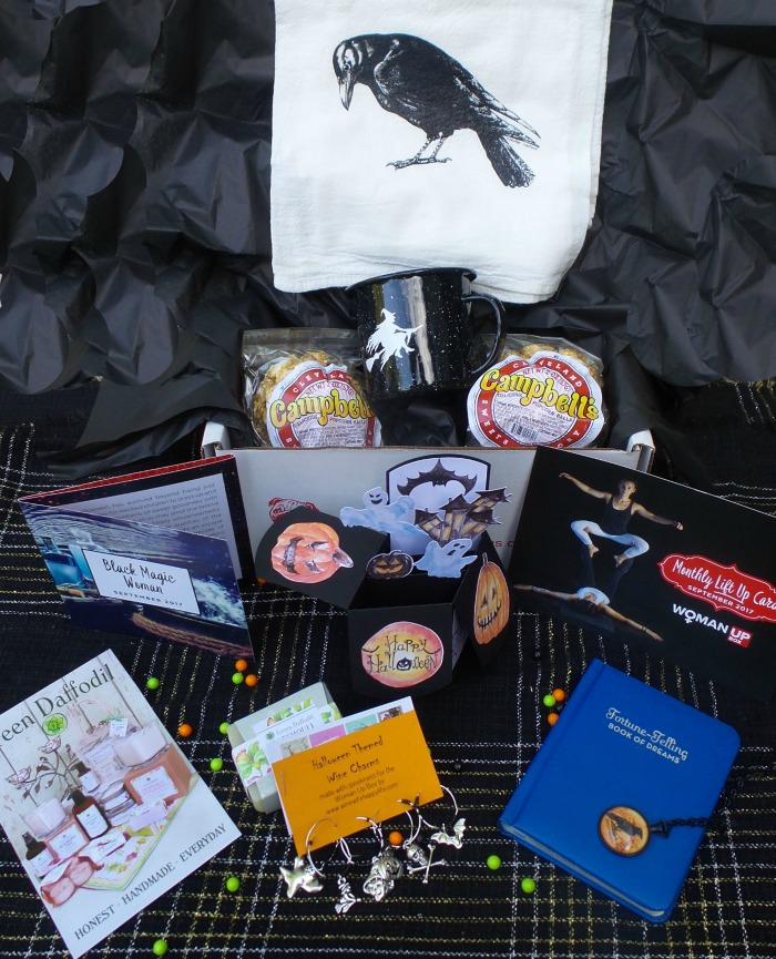 UnBoxing Monthly Subscription Box Woman Up Box
