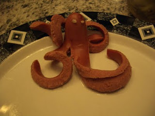 Scarry Halloween Octopus REcipe