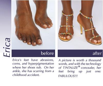 Sandal feet Tintalize