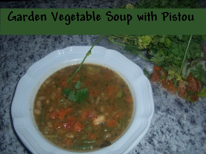 Golden Door Cooks at Home Vegetable Pistou Soup