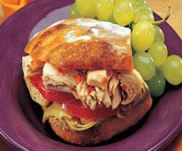 TunaArtichokeSandwich