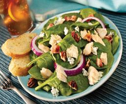 Tuna-Spinach-Salad
