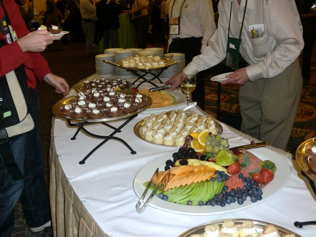 Dessert Buffet at the CES Unveiled