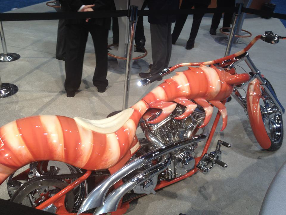 Shrimp Motorcycle