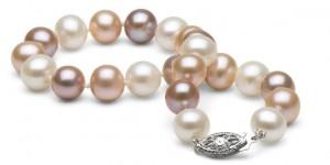 Muliti-colored pearls