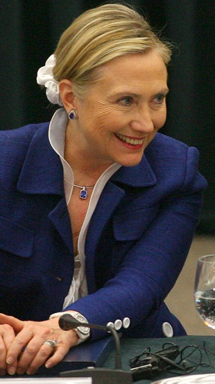 Stuff I Don't Need to See: Hillary Clinton in a Scrunchie?