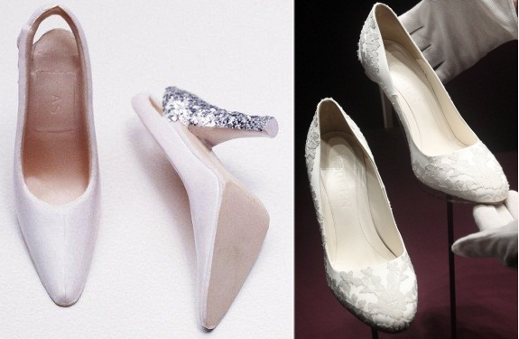 Kate Middleton Wedding Doll Shoes