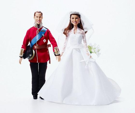 Kate Middleton wedding Doll