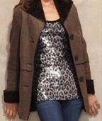 Karen-Kane-suede-faux-fur-jacket