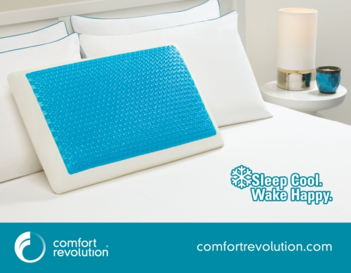 Comfort Revolution Hydraluxe Bed Pillow Review