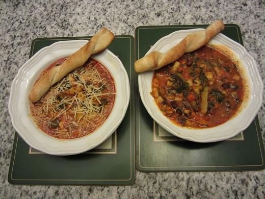 Bertolli Chicken Minestrone Meal Soup