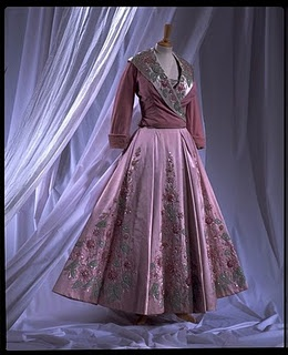 Pink Vintage Norman Hartnell
