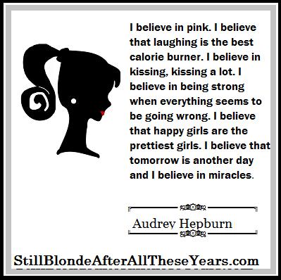 Audrey Hepburn I believe