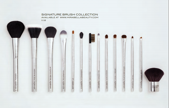 Mirabella signature Brush Collection