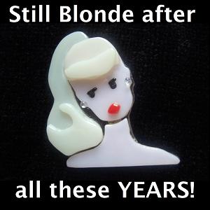 still blonde medium