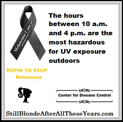 UV Exposure Melanoma Awareness Month