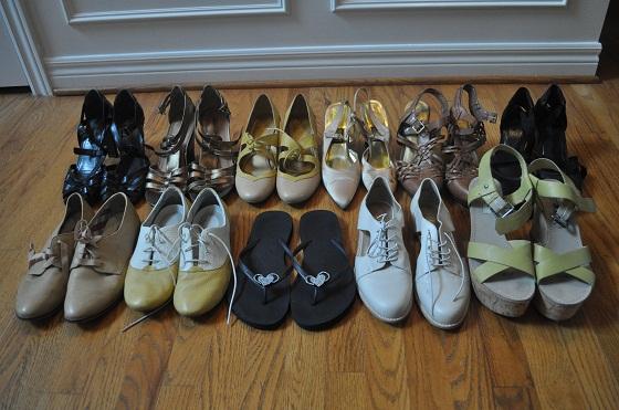 blogher 13 Shoe Choices