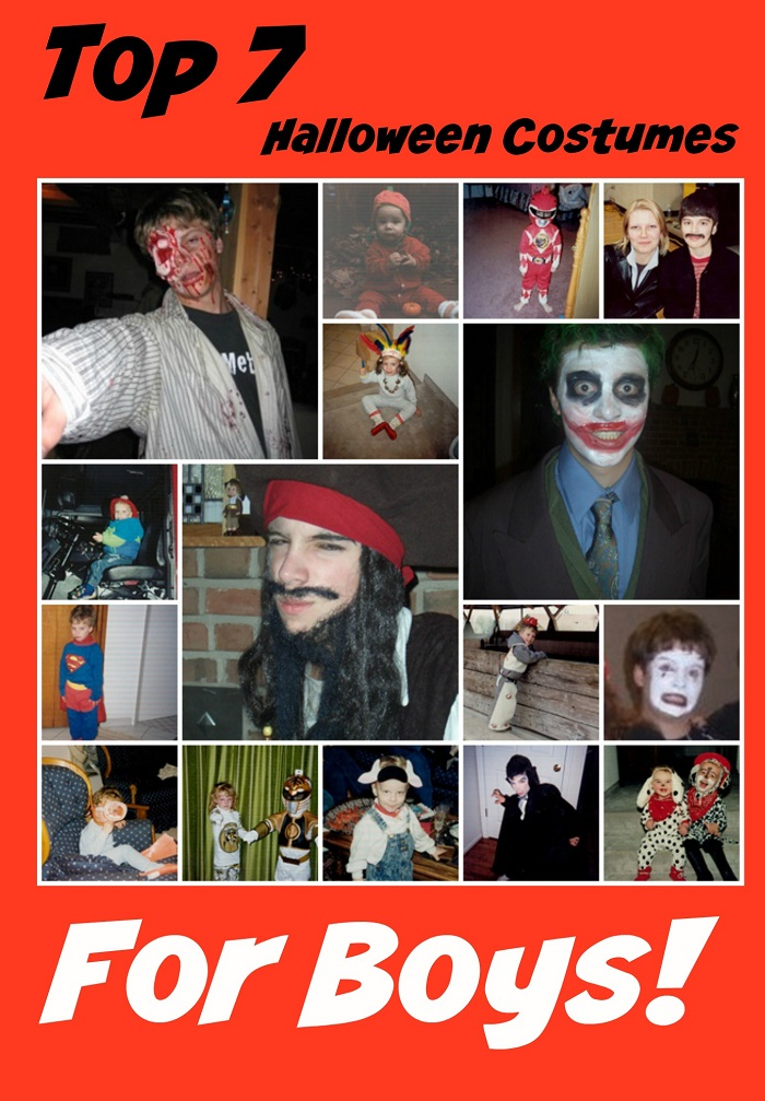 top 7 Halloween Costumes for Boys