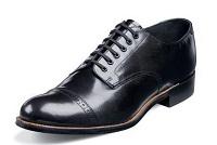 Black Oxfords Mens Christmas Wedding Shoes